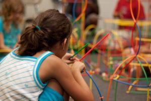 criança, aprendizado, brincando, jogos